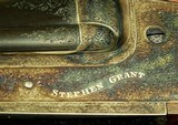 STEPHEN GRANT- 7 x 65R SIDELOCK BEST QUALITY SINGLE SHOT STALKING RIFLE- THE ULTIMATE SINGLE SHOT- OUTSTANDING ENGRAVING by KEITH THOMAS - 13 of 14