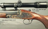 STEPHEN GRANT- 7 x 65R SIDELOCK BEST QUALITY SINGLE SHOT STALKING RIFLE- THE ULTIMATE SINGLE SHOT- OUTSTANDING ENGRAVING by KEITH THOMAS - 3 of 14