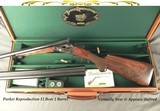 """PARKER REPRODUCTION 12 BORE 2 Bbl.- 26 & 28"""" EJECT Bbls.- SINGLE SELECTIVE TRIGGER- REMAINS as NEW & in 99.5% COND.- LESS THAN 7 Lbs.- NICE WOOD-"""