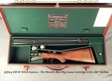 """JEFFERY 450 #2 N. E.- VERY SOLID HEAVY DUTY DOUBLE- 24"""" CHOPPER LUMP Bbls.EXC. BORES- THE GREAT 450 with .458"""" BULLETS- 92%ENGRAVING- 11 L - 1 of 8"""