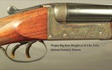 """JEFFERY 450 #2 N. E.- VERY SOLID HEAVY DUTY DOUBLE- 24"""" CHOPPER LUMP Bbls.EXC. BORES- THE GREAT 450 with .458"""" BULLETS- 92%ENGRAVING- 11 L - 3 of 8"""