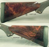 """STEPHEN GRANT 450 3 1/4"""" BPE- EXC. 1888 CLASSIC UNDERLEVER HAMMER EXP.- EXC. BORES- 85% FINE SCROLL ENGRAVING- EXC. WOOD- LOAD INFO- O&L CASE - 5 of 9"""