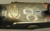 PURDEY .369 N. E.- RARE CALIBER in a PURDEY DOUBLE- GOLDEN ERA PIECE of 1935- BORES LOOK LIKE NEW- 90% ORIG. CASE COLORS- O&L TRUNK- EXC. WOOD- NICE - 6 of 9