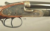 PURDEY .369 N. E.- RARE CALIBER in a PURDEY DOUBLE- GOLDEN ERA PIECE of 1935- BORES LOOK LIKE NEW- 90% ORIG. CASE COLORS- O&L TRUNK- EXC. WOOD- NICE - 3 of 9