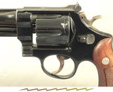 """SMITH & WESSON 357 MAGNUM PRE-MODEL 27- MADE in 1956- PINNED 6"""" BARREL- ALL SERIAL NUMBERS MATCH INCLUDING the GRIPS- OVERALL a 94% PIECE - 6 of 6"""