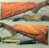 """STEPHEN GRANT 577/500 3 1/8"""" BPE- SIDELOCK 1887 CLASSIC TOPLEVER HAMMERLESS EXPRESS DOUBLE- VERY GOOD to NEAR EXC. BORES- ACCURATE- CASED w/ TOOL - 7 of 12"""