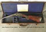 """WOODWARD 20 BORE SIDELOCK SxS- """"THE AUTOMATIC""""- 95% ORIG. CASE COLORS- OUTSTANDING WOOD- LONDON 28"""" Bbls. INSTALLED in 1980- SUPER COND"""