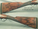 """WESTLEY RICHARDS DROPLOCK 12- 32"""" Bbls.- 1925 TOTALLY ORIG GUN (Except Pad)- """"C"""" BOLTING w/ 3rd BITE- SCALLOPED ACTION- HINGED - 6 of 9"""