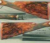 """SANDRO LUCCHINI 28 & 20 BORE SIDELOCK HAMMER GUN- BOTH Bbls. 29"""" CHOPPER LUMP- MADE 2001- NEAR EXHIBITION WOOD- EXC. ENGRAVING- OVERALL 98% - 5 of 10"""