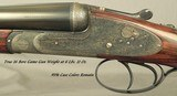 """PIOTTI 16 MOD KING I- 27"""" CHOPPER LUMP Bbls.- 5 BRILEY CHOKES- 1995- NEAR EXHIBITION WOOD- VERY NICE ENGRAVING- 94% OVERALL COND.- CASED- NICE - 3 of 8"""