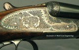 """ARRIETA 12 SIDELOCK- MOD 871- 1997- 28"""" EJECT CHOPPER LUMP Bbls.- LIKE BUYING IT NEW- ORIG. & 99% OVERALL COND.- NICE WOOD- 85% ENGRAVING- CASED - 4 of 8"""