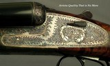 """ARRIETA 12 SIDELOCK- MOD 871- 1997- 28"""" EJECT CHOPPER LUMP Bbls.- LIKE BUYING IT NEW- ORIG. & 99% OVERALL COND.- NICE WOOD- 85% ENGRAVING- CASED - 7 of 8"""