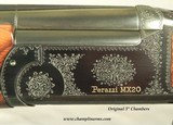"""PERAZZI 20- MX20C- PERAZZI/PACHMAYR SPECIAL EDITION- 1986- 35% ENGRAVING COVERAGE- 26"""" V R Bbls.- 6 FACTORY CHOKES- NICE WOOD- OVERALL 97% COND. - 5 of 8"""