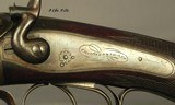 """CHARLES OSBORNE 450 3 1/4"""" BPE- ABSOLUTELY APPEARS UNFIRED- THE BORES ARE FLAT NEW- OPENS & CLOSES LIKE a BRAND-NEW DOUBLE- ABOUT 1895- NICE - 6 of 8"""