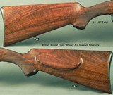 """MAUSER 30-06 CARBINE COMMERCIAL OBERNDORF- TYPE M- MANNLICHER STOCK- 20"""" Bbl.- THE BORE as NEW- Bbl. & RECEIVER BLUE at 96%- EXC. WOOD-NICE PIECE - 4 of 6"""