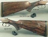 """HEYM 450/400 3"""" N. E. MOD 88 B SAFARI- LIKE BUYING it NEW- UPGRADED WOOD- 25% HAND CUT ENGRAVING- DOCTER RED-DOT SIGHT- OVERALL 99%- 14 5/8"""" - 4 of 6"""