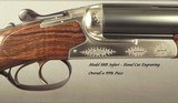 """HEYM 450/400 3"""" N. E. MOD 88 B SAFARI- LIKE BUYING it NEW- UPGRADED WOOD- 25% HAND CUT ENGRAVING- DOCTER RED-DOT SIGHT- OVERALL 99%- 14 5/8"""" - 2 of 6"""