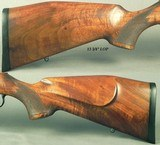 """MAUSER 22 LR MOD 201 LUXUS SPORTING BOLT RIFLE- 1992- 21 1/2"""" Bbl.- NICE ADJUSTABLE TRIGGER- STRONG REPUTATION for ACCURACY- GROOVED + DRILLED - 4 of 6"""