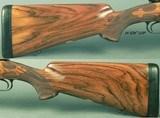 BIESEN 375 H&H FULL & COMPLETE CUSTOM PRE-WAR MODEL 70- EXC. ENGRAVED FLOORPLATE & TRIGGER GUARD- WRAP AROUND FLEUR-DE-LIS CHECKERING- NICE STUFF - 5 of 9