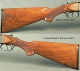 """WINCHESTER 16 BORE MODEL 21- REMAINS in 98% ORIG. FINISH & ORIG. COND.- DOUBLE TRIGGERS- 28"""" EXTRACTOR Bbls.- LOOKS UNFIRED- NICE WOOD- 6 Lbs. 6 - 5 of 6"""