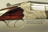 """KRIEGHOFF 20 BORE 1928 SUHL BEST GRADE O/U- 99% ENGRAVING w/ GAME SCENES- 30"""" V R Bbls.- 100% ORIG. 1928 FINISH- BEST 300 SERIES ACTION-EXC. BORE - 4 of 9"""