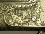 """KRIEGHOFF 20 BORE 1928 SUHL BEST GRADE O/U- 99% ENGRAVING w/ GAME SCENES- 30"""" V R Bbls.- 100% ORIG. 1928 FINISH- BEST 300 SERIES ACTION-EXC. BORE - 8 of 9"""
