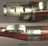 HOENIG 20 BORE ROTARY ROUND ACTION O/U- TOTAL SIMPLICITY, DURABILITY, STRENGTH & FUNCTION- TOP DRAWER HOENIG WORKMANSHIP & CRAFTSMANSHIP- REALLY NICE - 8 of 9