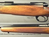 DALE GOENS- 7mm REM. MAG.- PRE-64 MODEL 70 ACTION- 1/2 OCTAGON 1/2 ROUND Bbl.- INTEGRAL FULL LENGTH RIB- GOENS CLASSIC STOCK- OVERALL 97%- SOLID - 2 of 4