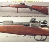 """NIEDNER RIFLE CORP.- 7 x 57 MAUSER CARBINE- COMMERCIAL MAUSER METAL & WOOD- EVERY SERIAL # MATCHES- ONLY 6 Lbs. 13 Oz.- 20"""" CARBINE Bbl.-EXC.BORE"""
