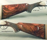 """CHAPUIS 450/400 3"""" N. E.- NEW- MODEL ELAN- VERY NICE WOOD- 95% FLORAL ENGRAVING & GAME SCENE- REMOVABLE BLOCKS in RIB for SCOPE MOUNTS or RED DOT - 4 of 5"""