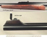 """CHAPUIS 450/400 3"""" N. E.- NEW- MODEL ELAN- VERY NICE WOOD- 95% FLORAL ENGRAVING & GAME SCENE- REMOVABLE BLOCKS in RIB for SCOPE MOUNTS or RED DOT - 5 of 5"""