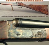"""UGARTECHEA 28 BORE by ASPEN OUTFITTING- 26"""" EJECT CHOPPER LUMP- MOD AOC/SG- 2002- OVERALL a 99% PLUS PIECE- NICE WOOD- 14 5/8"""" LOP- AS NEW"""