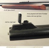 CHAPUIS 470 N. E.- NEW- MOD ELAN CLASSIC- VERY NICE WOOD- 95% FLORAL ENGRAVING & GAME SCENE- REMOVABLE BLOCKS in RIB for SCOPE MOUNTS or RED DOT - 4 of 4