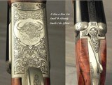 CHAPUIS 470 N. E.- NEW- MOD ELAN CLASSIC- VERY NICE WOOD- 95% FLORAL ENGRAVING & GAME SCENE- REMOVABLE BLOCKS in RIB for SCOPE MOUNTS or RED DOT - 2 of 4