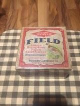 Western Field 2 pc 12 ga. full and sealed shot shell box