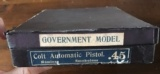 Colt LNIB 1911A1 Government Model Pre War Numbered Box All Paperwork