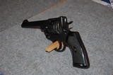 Webley Revolver .45 Auto cal Made 1917 - 6 of 13