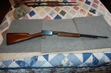 Winchester 62A Flat bottom fore end rifle