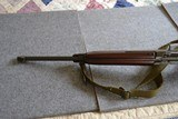 Inland M1A1 paratrooper .30cal low wood made 2/44 - 8 of 12