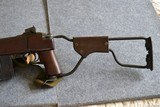 Inland M1A1 paratrooper .30cal low wood made 2/44 - 5 of 12