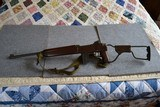 Inland M1A1 paratrooper .30cal low wood made 2/44 - 4 of 12