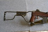 Inland M1A1 paratrooper .30cal low wood made 2/44 - 3 of 12