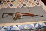 Inland M1A1 paratrooper high wood .30cal made 9/43
