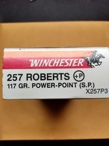 .257 Roberts +P Winchester