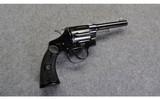 Colt ~ Police Positive ~.32-20 WCF