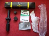 BUSHNELL TROPHY XLT NEW 1-4 X 24 SCOPE - 1 of 1