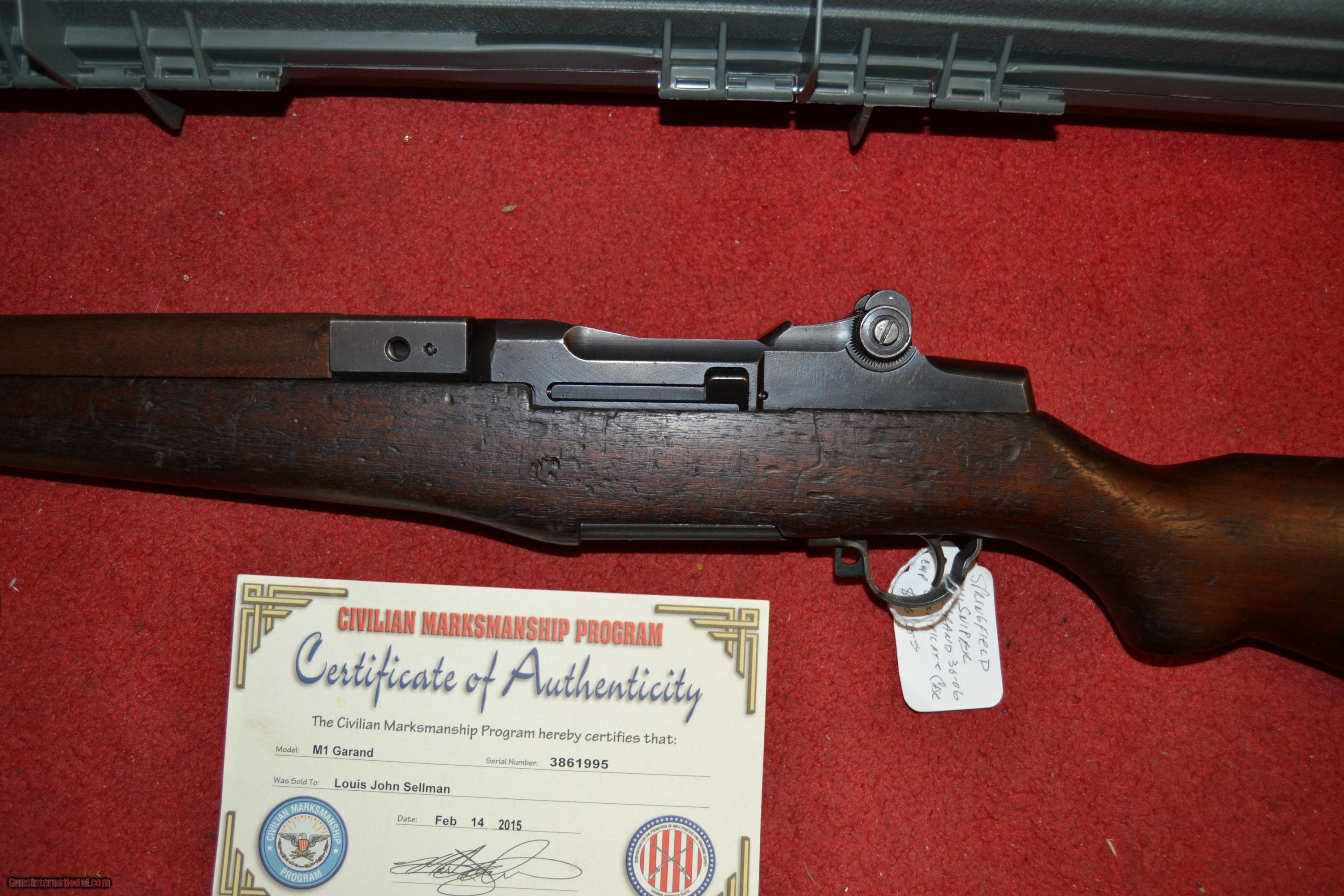 Dating m1 garand serial numbers