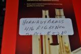 HORNADY NEW BRASS 416 RIGBY