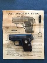 COLT 1908 HAMMERLESS (VEST POCKET) .25 - 2 of 8