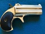 Remington 41 OverUnder Derringer pre 1898 - 1 of 3